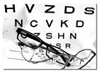 Glasses - eye test - A3 poster - print - picture - art