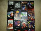 CHOOSE - NINTENDO SNES MANUALS ONLY - ( NO GAME OR BOX ) *** FREE SHIPPING ***