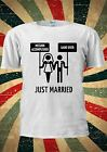 Game Over Mission Accomplished Marriage Tumblr T Shirt Men Women Unisex 1066
