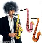 75cm Inflatable SAXOPHONE Jazz Musical Instrument Toy Fancy Dress 1,2,or 4