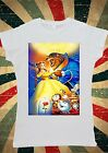Disney Beauty And The Beast Bella Belle Dance Women T-Shirt Vest Tank Top W062