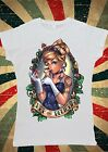 Disney Princess Cinderella The Little Glass Women T-Shirt Vest Tank Top W134