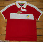 Timberland Polo Shirt Top Tee Mens L & XL  Red New With Tags Authentic