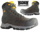 MENS LEATHER HIKING ARMY MILITARY POLICE SECURITY TRAINERS SHOES BIKER BOOTS
