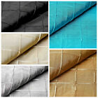 "54"" x 10 yards Pintuck Taffeta FABRIC BOLT Wedding Party Crafts Sewing Wholesale"