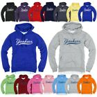 NewYork NY Yankees Light Cotton Hooded Long sleeve tshirt Hoodie Hoody Top TeeAA