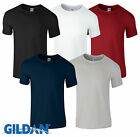 5 Pack Unisex Gildan Plain Cotton T-Shirts Multipack Brand New Softstyle Top