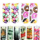 Cheap bargain 3D Printed Fashion Low Cut Ankle Socks Multiple Colors 11 styles
