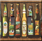 Light Switch Plate Cover - Beer imported collection - Bottle carmel lager porter