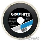 Graphite diamond blade disc 115-230 mm for tiles, tile cutter 115 - 230 mm