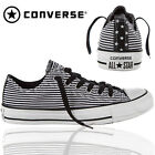 NEW CONVERSE JUNIORS GIRL WOMENS STRIPED CANVAS CASUAL SPORTS SHOES  ALL SIZE UK