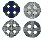 Celtic Cross Reusable Window Cling Stickers