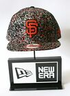 New Era 9FIFTY San Francisco Giants Speckle Black Snapback Hat Baseball Cap