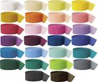 Crepe Streamers - Buy 3+ get 40% off - All Colours - Party Decorations -