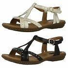 Ladies Clarks Comfortable Everyday Sandals Roya Hannah