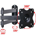 "Articulating Tilt Wall Mount Bracket 19 22 23 24 26 27 28 29"" LED LCD TV Monitor"