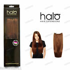 Halo Straight One Piece 100% Indian Remy Human Hair Extensions 12""
