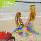 MERMAID SWIM TAIL RAINBOW BUBBLES NO FOOT ACCESS TO FIT OUR MERMAID SWIM FIN FUN