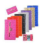 NEW Leather Bling Bow Credit Card Holder Wallet Case For Samsung Galaxy S3 S4 S5