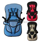 Adjustable Portable Kid Baby Infant Car Safety Seat Harness Cushion Belt Chair