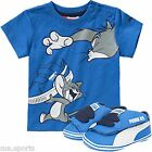 New 2015 Puma Tom and Jerry Crib Infant new born Shoes Plus T-shirt Gift box UK