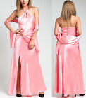 Women prom gown dress maxi long cocktail party clubwear coral sexy dress