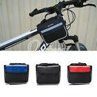 New Outdoor Cycling Bike Bicycle Waterproof Frame Handlebar Front Tube Bag OBS