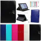 """For 7"""" 8"""" 10"""" 10.1"""" Inch Tablet PC Universal Flip PU Leather Stand Case Cover"""