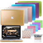 "Anti scratch Gold metallic Laptop Hard Case cover For Macbook Pro Air 11 13"" 15"""