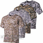 DIGITAL CAMO T-SHIRT MENS COMBAT CAMOUFLAGE ARMY MILITARY SPECIAL OPS FISHING