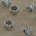 Jewelry Findings Tibetan Silver 17mm Hole 7mm S Spacers Loose Beads YJ-175