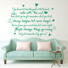 Life Goes On Wall Art Quote C Wall Sticker Wall Decals Wall Removable Decor A243