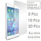 Crystal Clear Screen Protector LCD Film Guard for iPad Air 2 iPad Air 1