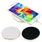 Tide 1PC Round Qi Wireless Power Charger For iPhone Samsung Galaxy S4 S3 Note2