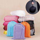 Portable Travel Motorcycle Bike Dual Drawstring Helmet Bag Pouch Storage Pocket