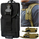 Universal Army Bag Mobile Phone Belt Loop Hook Cover Holster Pouch Case Cover
