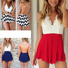 A Sexy Womens Backless Halter V Neck Bodycon Playsuit Clubwear Jumpsuit Romper