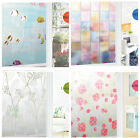 2MX45cm STATIC CLING PRIVACY FROSTED GLASS WINDOW EFFECT VINYL FILM 99% UV-BLOCK