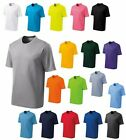 MENS MOISTURE WICKING, MESH, CREWNECK, LIGHTWEIGHT T-SHIRT, S M L XL 2X 3X 4X