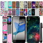 For ZTE Quartz Z797C Cute Design TPU SILICONE Rubber Soft Case Phone Cover + Pen
