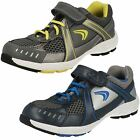Boys Cica by Clarks Sporty Trainers - Air Compete