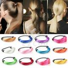 Colorful Girl Synthetic Fiber Wig Hair Rope Ponytail Elastic Holder Hair Band