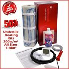 Under Floor Heating Mat ALL SIZES Dual Core Electric 200w/m² Under Tile Heating