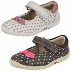 Clarks Girls Ballerina Shoes Softly Dotty