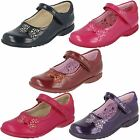 Girls Clarks Casual Shoes with Flashing Lights - Trixi Dazzle