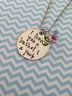 I love you a bushel and a peck necklace with Swarovski crystal birthstones Mom