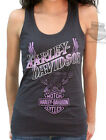 Harley-Davidson Ladies Upwing Eagle Graphite Sleeveless Tank Top