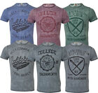 New Mens Threadbare Fashion T- Shirt  Short Sleeve Casual Polycoton Dyed Summer