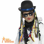 80s Boy George Chameleon Hat Mens Fancy Dress Costume Accessory New