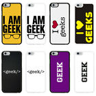Geek Case Cover for Apple iPhone 4 4s 5 5s 6 6 Plus - 17